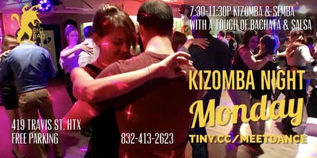 Free Kizomba Monday Afro-Latin Social @ El Big Bad tickets