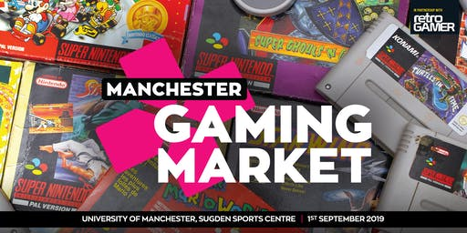 Manchester Gaming Market - 1st September 2019