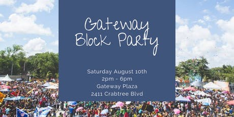 Gateway Block Party tickets
