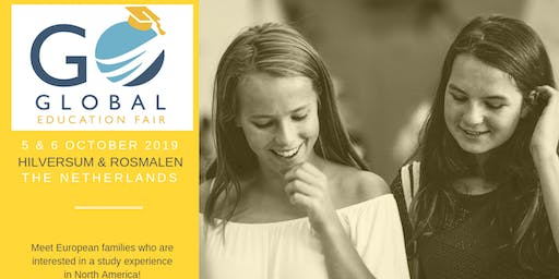 2019 GO GLOBAL EDUCATION FAIR - Rosmalen