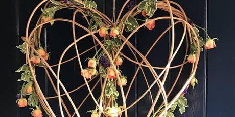 Willow & Floral Heart Workshop tickets