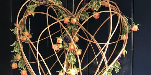 Willow & Floral Heart Workshop