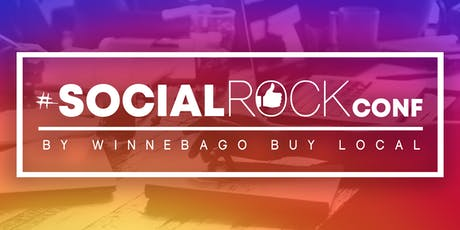 #SocialROCKconf 2020 by Winnebago Buy Local tickets