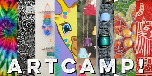 Kids Art Camp Week 1(Afternoon)