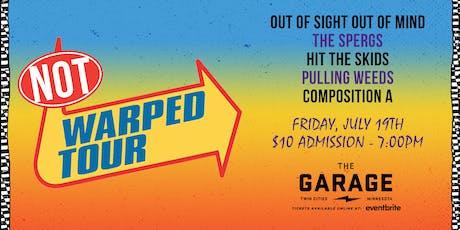 Not Warped Tour tickets