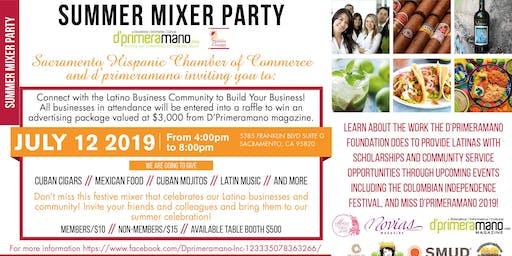 Summer Mixer Party