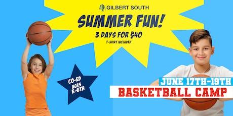 Gilbert Basketball Camp tickets