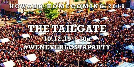 HU Tailgate 2019 (Howard Homecoming)