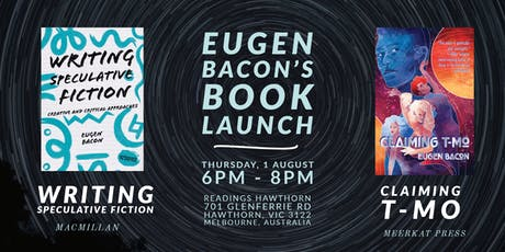 Melbourne Book Launch: Claiming T-Mo & Writing Speculative Fiction tickets