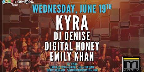 Kyra, DJ Denise, Digital Honey & Emily Khan at Motiv biglietti