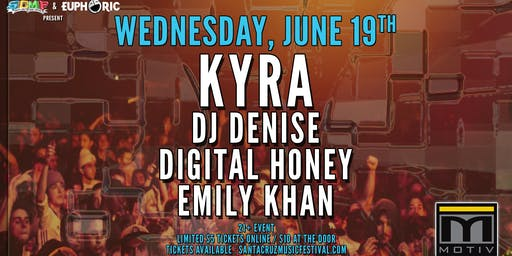 Kyra, DJ Denise, Digital Honey & Emily Khan at Motiv