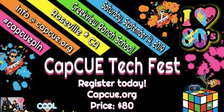 CapCUE Techfest 2019 tickets