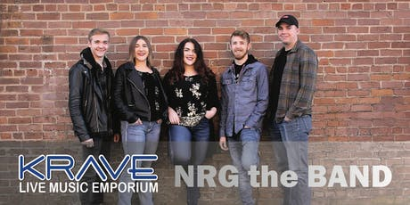NRG the Band at Krave tickets
