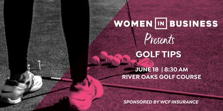 Women in Business: Golf Tips tickets