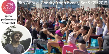 One Love 8th Annual Charity Yoga Event tickets