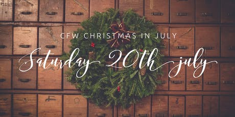 CFW Christmas In July tickets