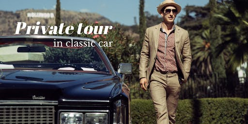 PRIVATE TOUR IN CLASSIC CAR