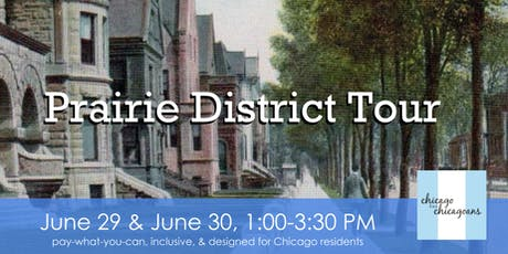 Prairie District Walking Tour tickets