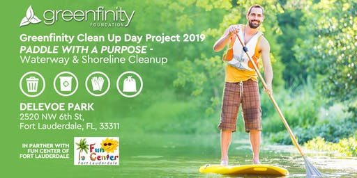Paddle With A Purpose - Waterway and Shoreline Cleanup