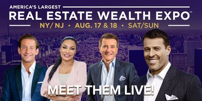 Real Estate & Wealth Expo feat Tony Robbins, Robert Herjavec & James Harris