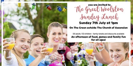 The Great Woolston Sunday Lunch tickets