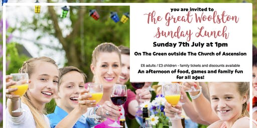 The Great Woolston Sunday Lunch
