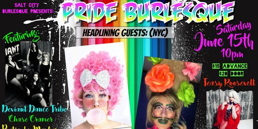 Salt City Burlesque Presents: Pride Burlesque