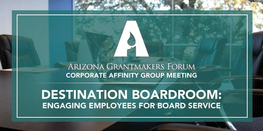 Destination Boardroom: Engaging Employees for Board Service