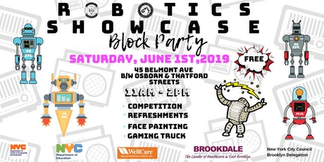 Elite Learners, Inc.'s 1st Annual Robotics Showcase Block Party tickets