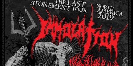 Immolation w/s/g Blood Incantation & Goreality tickets