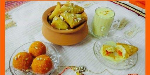 Indian fusion dessert class