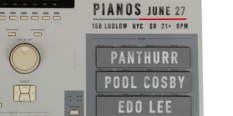 Panthurr, Pool Cosby, Edo Lee, Little Distractions tickets