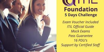 ITIL Foundation 2-Days Classroom in Monterrey