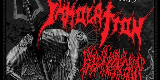 Immolation, Blood Incantation, Shabti & Angel Morgue