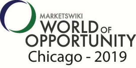 MarketsWiki Education World of Opportunity Chicago 2019 tickets