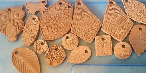 Kids Claytime: Special Guest and Me Pendants 8/5