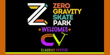 Zero Gravity Presents Cluadius Vertesi tickets