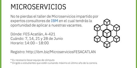 Microservicios para Alumnos UNAM entradas