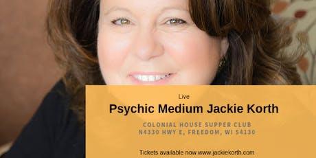 Psychic Medium Jackie Korth - Freedom WI entradas