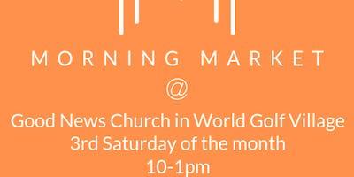 Morning Market at Good News Church