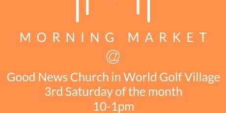 Morning Market at Good News Church tickets