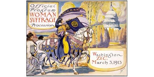 Women's Suffrage / Nineteenth Amendment 99th Anniversary Walk (FREE)
