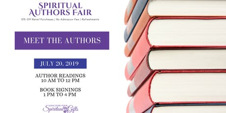 Spiritual Author Fair tickets