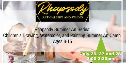 Children's Drawing, Watercolor, and Painting Summer Art Camp