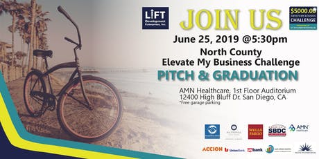 North County Elevate My Business Challenge Pitch Day entradas