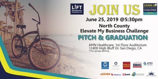 North County Elevate My Business Challenge Pitch Day
