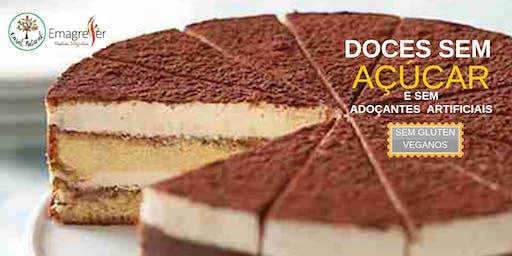 Curso Doces sem Açúcar e sem Adoçantes - Sem Glúten e Veganos