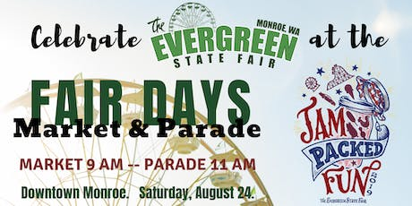 Monroe Fair Days Parade and Market tickets