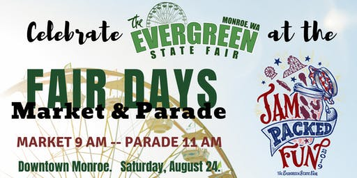 Monroe Fair Days Parade and Market