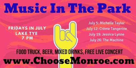 Monroe Music In The Park Concert Series tickets